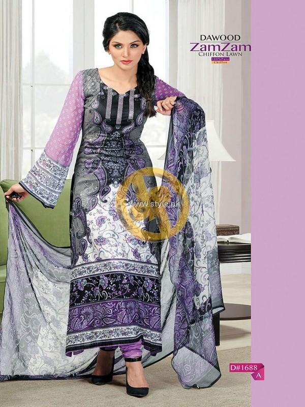 Dawood Zamzam lawn 2013 Volume 2 for Women