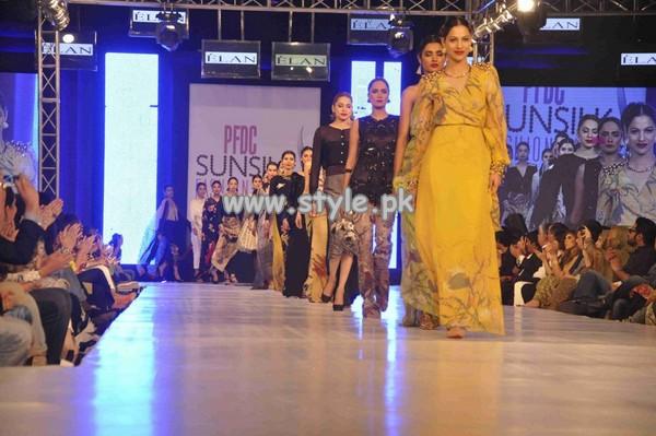 Elan Western Dresses At PFDC Sunsilk Fashion Week 2013 010