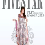 Five Star Textiles Pret Collection 2013 for Summer 009