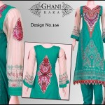 Ghani Textile Spring collection 2013 For Women 007