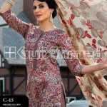Gul Ahmed Lawn Collection For Summer 2013 006