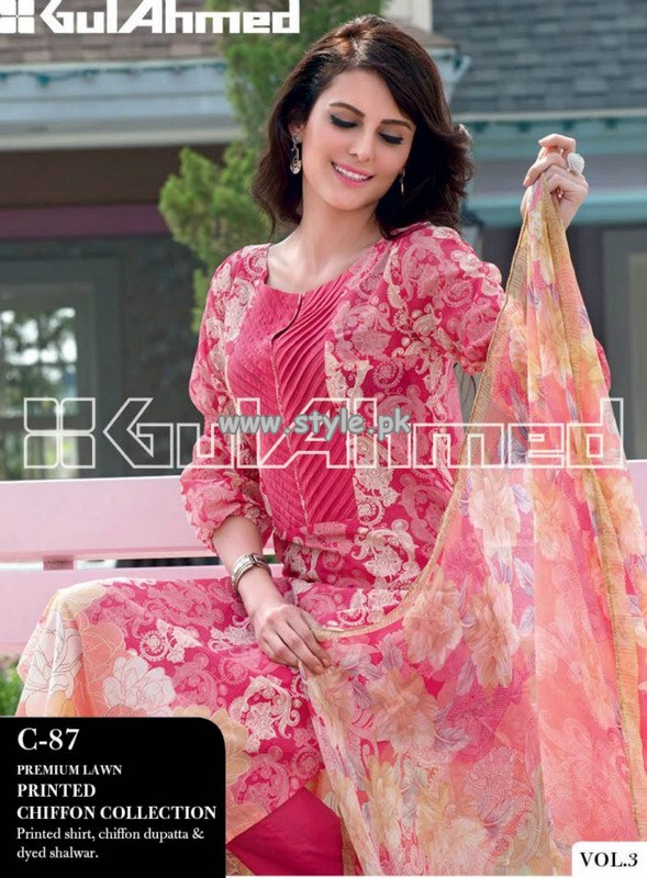 Gul Ahmed Lawn Collection For Summer 2013 007 pakistani dresses fashion brands