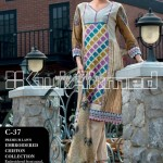 Gul Ahmed Lawn Collection For Summer 2013 009