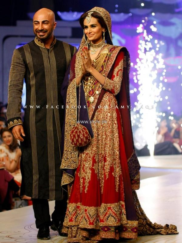 HSY Bridal Collection at Pantene Bridal Couture Week 2013 005 fashion shows bridal dresses