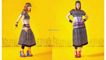 Hadiqa Kiani Fabric World Summer 2013 Dresses