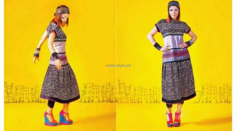 Hadiqa Kiani Fabric World Summer 2013 Dresses