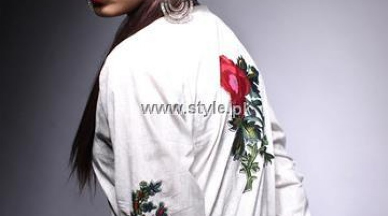 Khaadi White Dresses Collection 2013 for Women