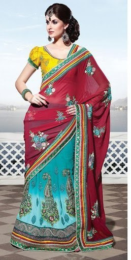 Kritikaa's Summer Saree Collection 2013 For Women 001