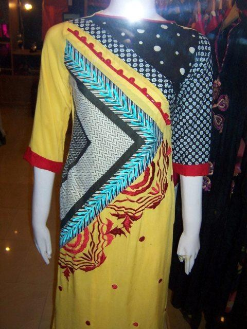 Laal Aur Dhani Summer Collection 2013 For Women 005