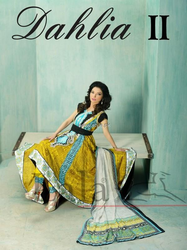 Lala Dahlia Lawn 2013 Volume 2 for Women