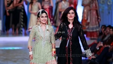 Madiha Noman Bridal Collection at BCW 2013