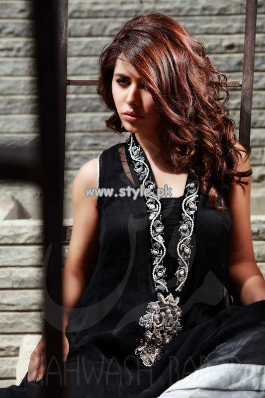 Mahwash Babar Party Wear Collection 2013 For Summer 004