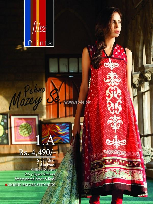 Nadiya Khan Lawn 2013 by Flitz for Women