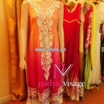 Nadya Visage Party Wear Collection 2013 For Women 004