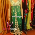 Nadya Visage Party Wear Collection 2013 For Women 006