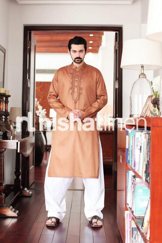 Naqsh By Nishat Linen Summer Collection 2013 For Men 003