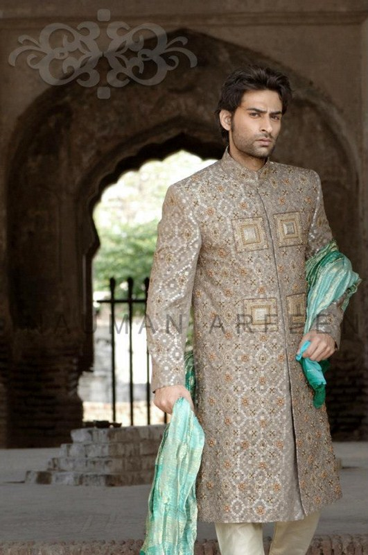 Naushemian Sherwani Collection 2013 For Men 004 men wear