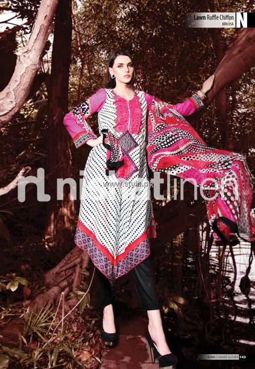Nishat Linen Summer 2013 Chapter 2 for Women 014 pakistani dresses fashion brands