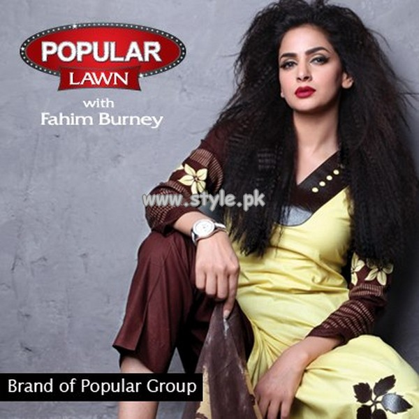 Popular Style Lawn Prints For Summer 2013 018