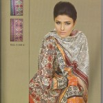 Sana and Samia Printed Lawn 2013 by Lala 002