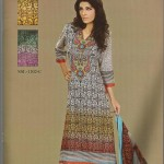 Sana and Samia Printed Lawn 2013 by Lala 003