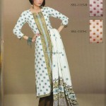 Sana and Samia Printed Lawn 2013 by Lala 004