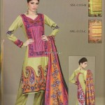 Sana and Samia Printed Lawn 2013 by Lala 009