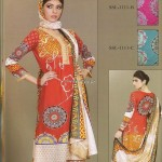 Sana and Samia Printed Lawn 2013 by Lala 011