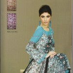 Sana and Samia Printed Lawn 2013 by Lala 013