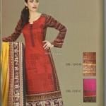 Sana and Samia Printed Lawn 2013 by Lala 014