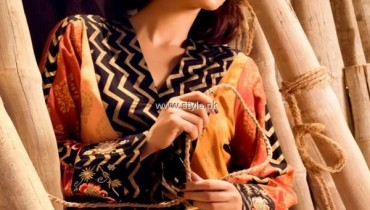 Sanam Chaudhri and Maheen Karim Dresses 2013 by Bonanza 001