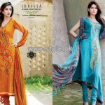 Shaista Lawn Collection For Summer 2013 005