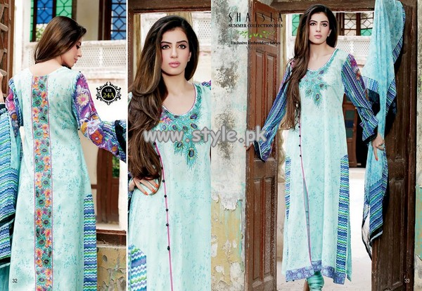 Shaista Women Lawn For Summer 2013 011 pakistani dresses