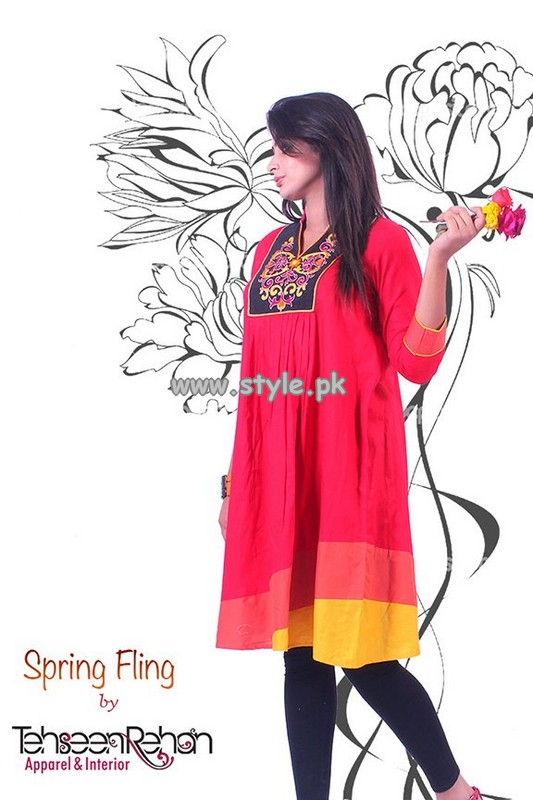 Tehseen Rehan Spring Collection 2013 For Women 006