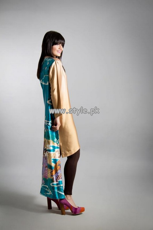 Umbereen And Sharmeen Party Wear Collection 2013 001
