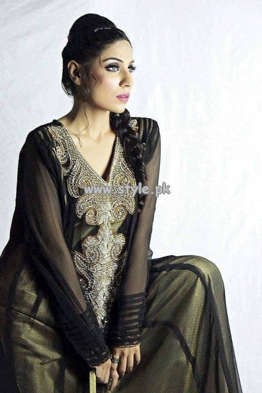 Wajahat Mansoor Formal Wear Dresses 2013 For Women 005
