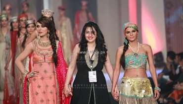 Yasmin Zaman Bridal Collection at BCW 2013
