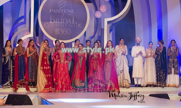 Zaheer Abbas Showcased At Pantene Bridal Couture Week 2013 008 fashion shows