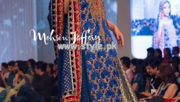 Zaheer Abbas Showcased At Pantene Bridal Couture Week 2013 011