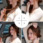 3 Hairstyles You Can Do In Your Car