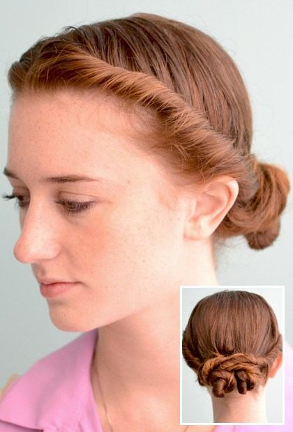 easy ways to style hair 3 prettiest ways to style hair 2271