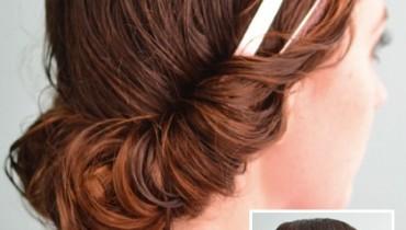 headband tuck