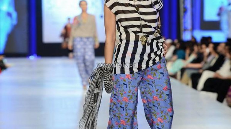 Faiza Samee Collection at PFDC Sunsilk Fashion Week 2013