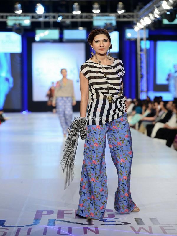 Faiza Samee Collection at PFDC Sunsilk Fashion Week 2013