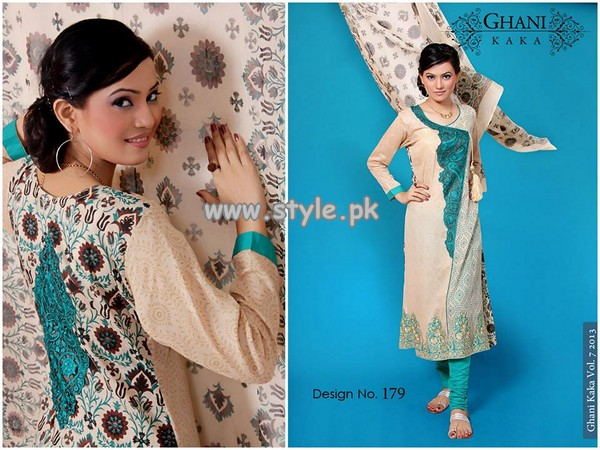 Ghani Textile New Dresses For Summer 2013 009