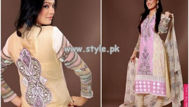 Ghani Textile New Dresses For Summer 2013 010