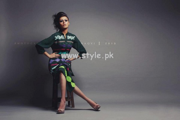 Ishtiaq Afzal Summer Fashion Collection 2013 For Women 008