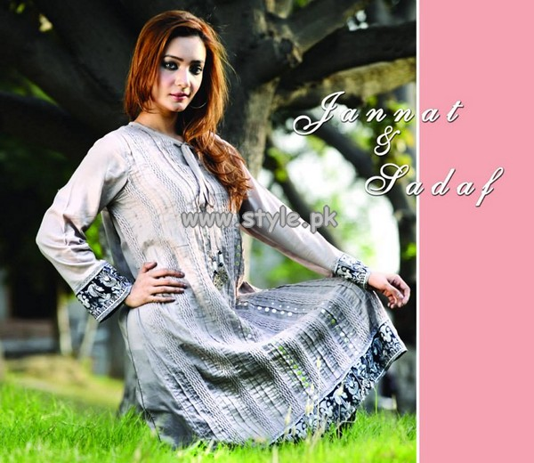 Jannat and Sadaf Casual Wear Collection 2013 For Women 001