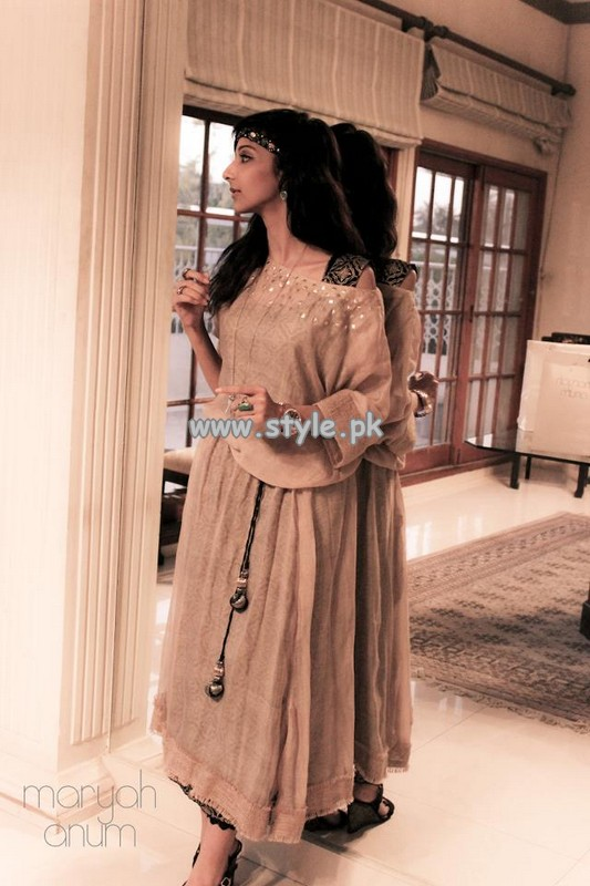 Maryah Anum Party Wear Collection 2013 For Summer 006