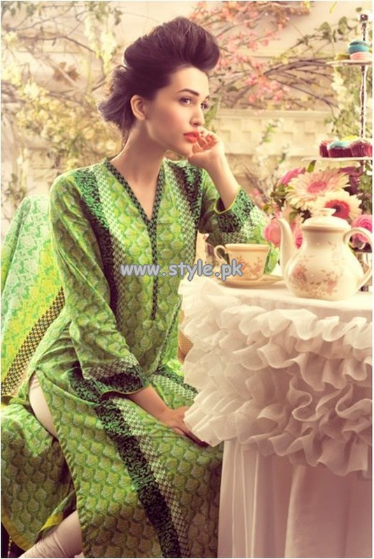 Mausummery Lawn Collection 2013 Volume 2 For Summer 001 pakistani dresses
